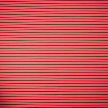 Hot Coral and Olive Stripe Nylon/Lycra Print