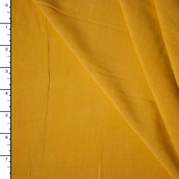 Mustard Yellow Rayon Challis