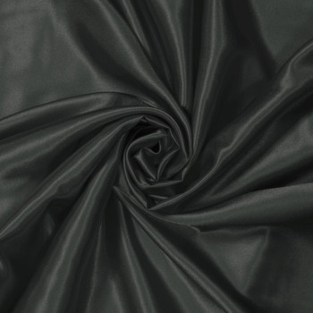 Charcoal Charmeuse Satin