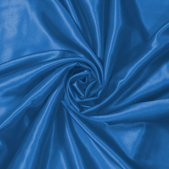 Ocean Blue Charmeuse Satin