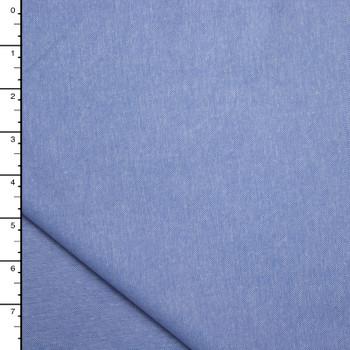 Light Blue Cotton Oxford Cloth