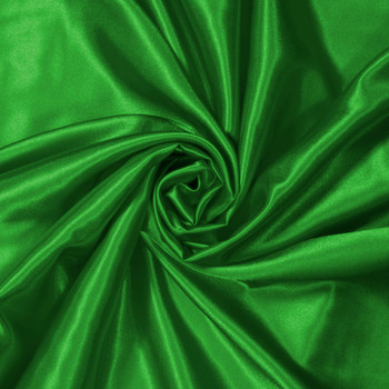 Flag Green Charmeuse Satin