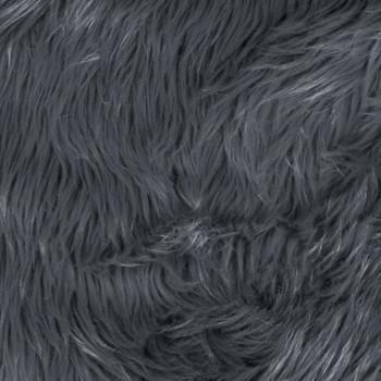 Grey Shag Faux Fur