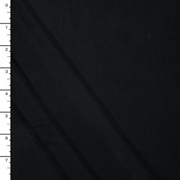 Black Brushed Modal Jersey Knit