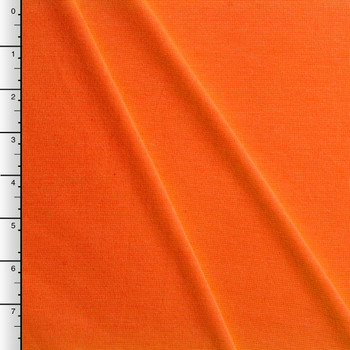 Neon Orange Midweight Stretch Ponte De Roma