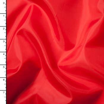 Red Polyester Sheath Lining