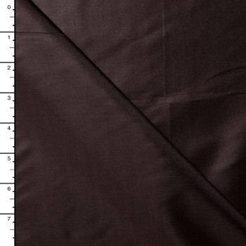 Brown Poly Habotai Lining