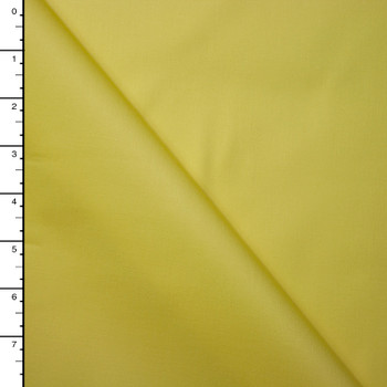 Sunshine Yellow Midweight Stretch Cotton Sateen