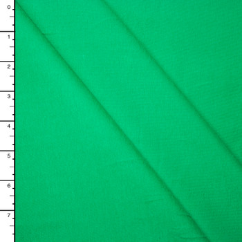 Bright Green Midweight 4-Way Stretch Cotton/Lycra