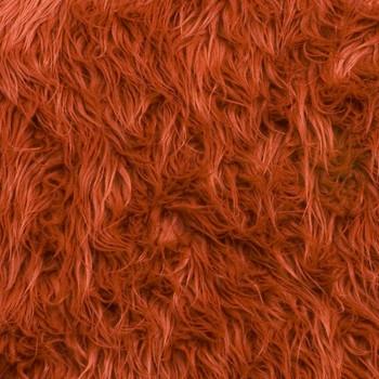 Rust Mongolian Faux Fur