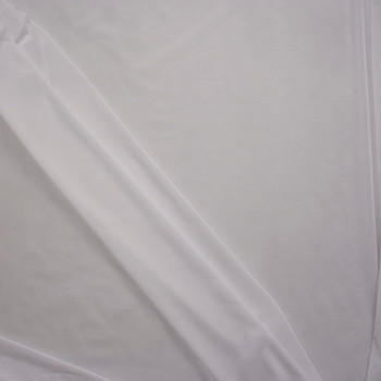 White Shaper Mesh Fabric By The Yard - Wide shot