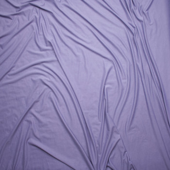 Dusty Lavender Double Brushed Poly Spandex Knit Fabric By The Yard - Wide shot