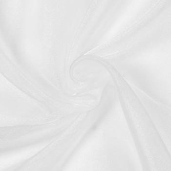 White Sparkle Organza