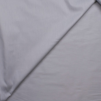 Light Grey Stretch Cotton Broadcloth Fabric By The Yard - Wide shot