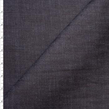 Dark Indigo Heavyweight Stretch Denim Fabric By The Yard