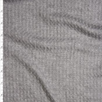 95c2318ae8f Cali Fabrics Warm White Soft Waffle Knit Fabric by the Yard