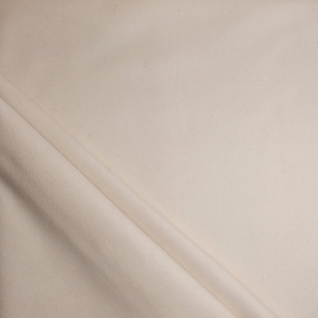 Natural Ivory Heavyweight Wool Felt Fabric By The Yard - Wide shot
