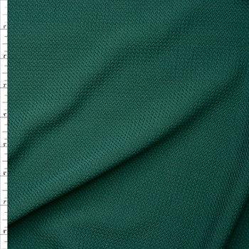 149477bca23 Solid Hunter Green Braided Texture Liverpool Knit Fabric By The Yard ...