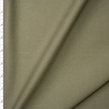 Taupe Heavyweight Stretch Ponte De Roma Fabric By The Yard