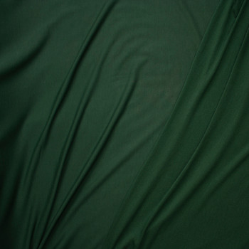 Hunter Green Lightweight Poly/Rayon French Terry Fabric By The Yard - Wide shot