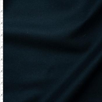 Dark Teal Wool Coating Fabric By The Yard