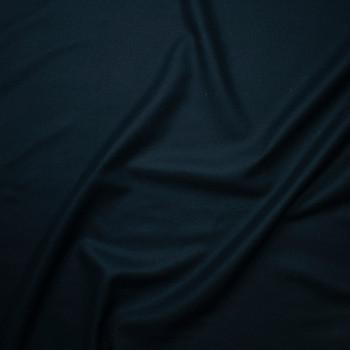 Dark Teal Wool Coating Fabric By The Yard - Wide shot