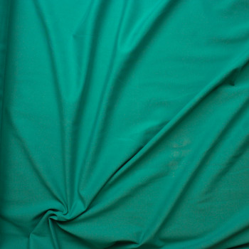 Bright Seafoam Heavy Midweight Stretch Ponte  Fabric By The Yard - Wide shot