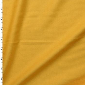 Bright Yellow Heavy Midweight Stretch Ponte  Fabric By The Yard