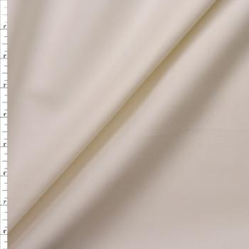 Offwhite Heavyweight Stretch Ponte Fabric By The Yard
