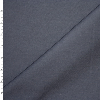 Solid Charcoal Midweight Cotton Twill Fabric By The Yard