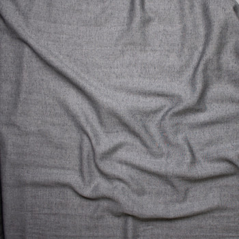 Grey Chambray Double Gauze from 'Robert Kaufman' Fabric By The Yard - Wide shot