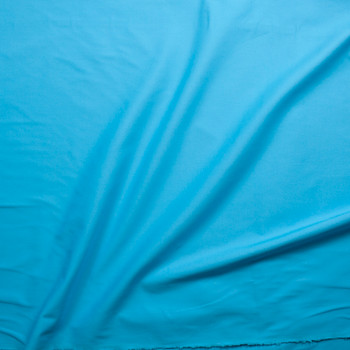 Light Turquoise Midweight Stretch Cotton Canvas Fabric By The Yard - Wide shot