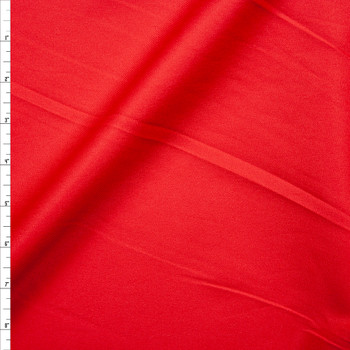 Red Stretch Midweight Cotton Twill Fabric By The Yard
