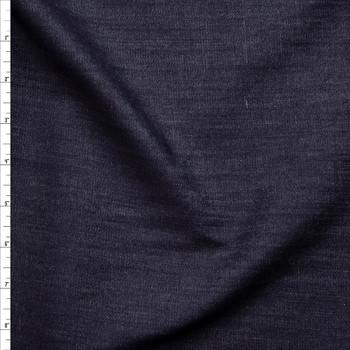 Dark Indigo 7oz Stretch Denim Fabric By The Yard
