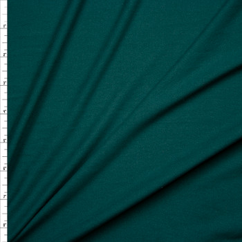 Emerald Green Double Brushed Poly/Spandex Knit Fabric By The Yard
