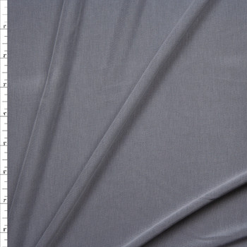 Grey Sand Washed Poly/Modal Jersey Knit Fabric By The Yard