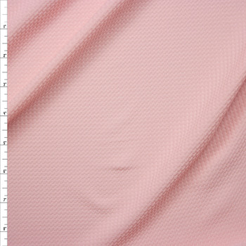 Solid Baby Pink Bullet Liverpool Knit Fabric By The Yard