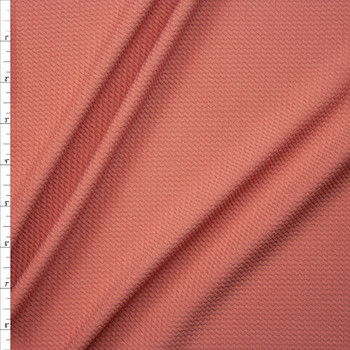Solid Antique Peach Liverpool Knit Fabric By The Yard