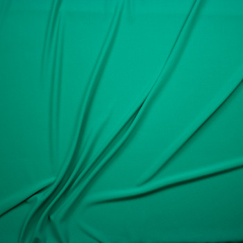 Solid Seafoam Bullet Liverpool Knit Fabric By The Yard - Wide shot