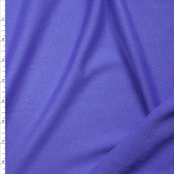 Purple Lightweight Cotton French Terry Fabric By The Yard