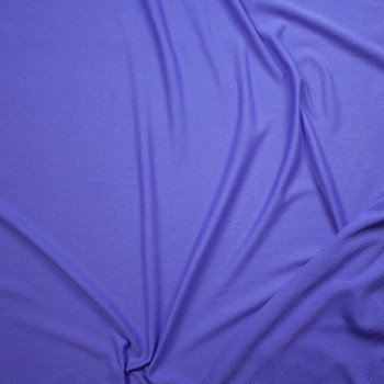 Purple Lightweight Cotton French Terry Fabric By The Yard - Wide shot