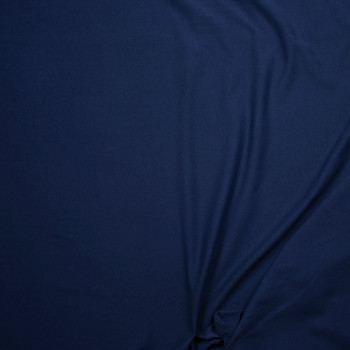 Dark Ocean Lightweight Cotton French Terry Fabric By The Yard - Wide shot