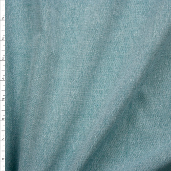 Emerald Lightweight Cotton Chambray Fabric By The Yard