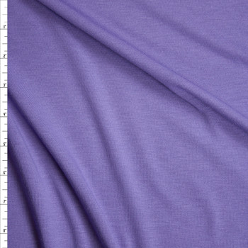 Dusty Lilac Poly/Rayon French Terry Fabric By The Yard
