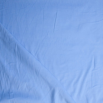 Sky Blue Baby Wale Corduroy Fabric By The Yard - Wide shot