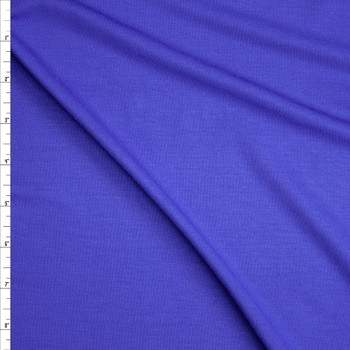 Royal Blue Stretch Tencel Jersey Knit Fabric By The Yard