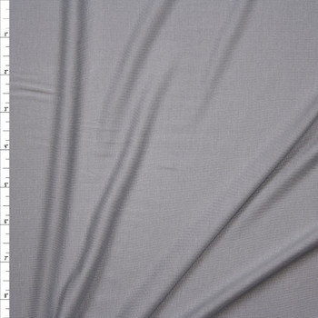 Light Grey Stretch Modal Jersey Knit Fabric By The Yard