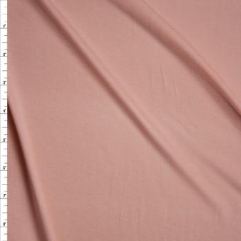 Peach Stretch Modal Jersey Knit Fabric By The Yard