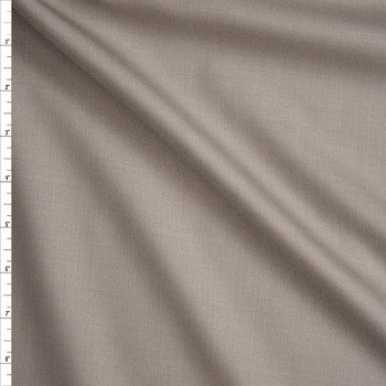 Sand Designer Wool Blend Suiting Fabric By The Yard