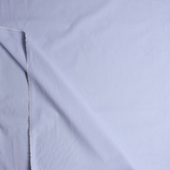 Pale Blue End-on-End Cotton Shirting from 'Brooks Brothers' Fabric By The Yard - Wide shot